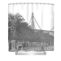 Alamo Dome Shower Curtain