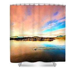 Alaska Shower Curtain by Bill Howard