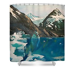 Alaska Reflections Shower Curtain by Sharon Duguay