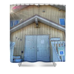 Alaskan Church Shower Curtain