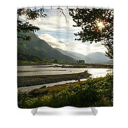 Alaskan Valley Shower Curtain