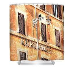 Albergo Abruzzi Shower Curtain