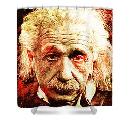 Albert Einstein  Shower Curtain