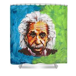 Albert Tribute Shower Curtain