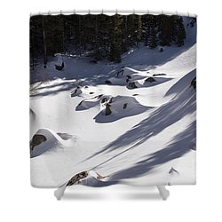 Alberta Falls In Estes Park Colorado Shower Curtain