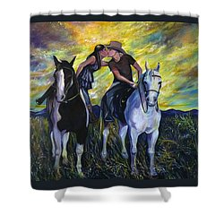 Alberta Kiss Shower Curtain