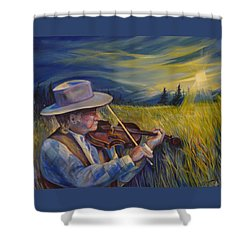Alberta Lullaby Shower Curtain