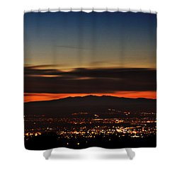Albuquerque Sunset Shower Curtain