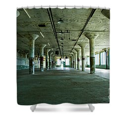 Alcatraz 5 Shower Curtain by Micah May