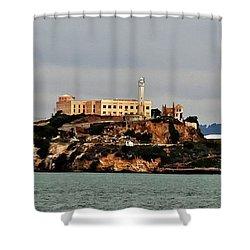 Alcatraz Island - The Rock Shower Curtain
