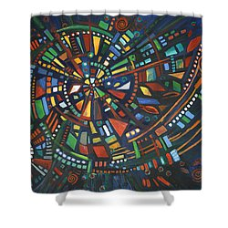 Alcheringa Shower Curtain