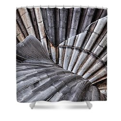 Aldeburgh Shell Abstract Shower Curtain
