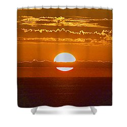 Aldinga Beach Sunset Shower Curtain
