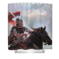 Alexander The Great  Shower Curtain