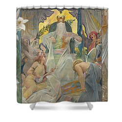 Arabian Nights By Andre Castaigne Shower Curtain