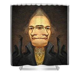 Alexander_hamilton 1 Shower Curtain