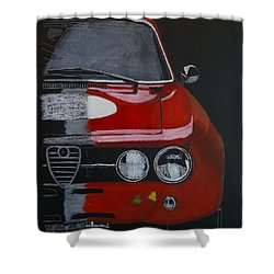 Alfa Romeo Gtv  Shower Curtain