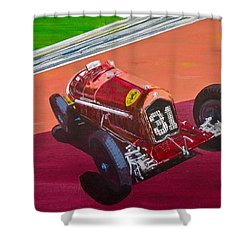 Alfa Romeo Tipo B P3  Shower Curtain