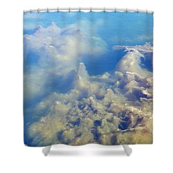 Shower Curtain featuring the photograph Algae Stalagmites by Greg Graham