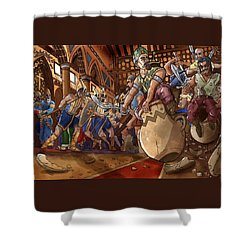 Ali Baba Saves The Princess Shower Curtain by Reynold Jay
