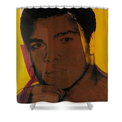 ALI Shower Curtain by Rob Hans