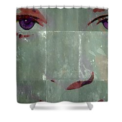 Alice In Green Shower Curtain