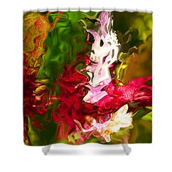 Shower Curtain featuring the digital art Alice by Richard Thomas