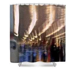 Alien Arrival Shower Curtain by Bill Owen