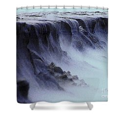 Alien Landscape The Aftermath Part 2 Shower Curtain