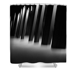 Shower Curtain featuring the photograph Alien Medical Research Center by Alex Lapidus