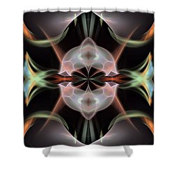 Alien-panel-left-or-right Shower Curtain by Bill Campitelle