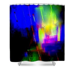 Alive Abstract Shower Curtain
