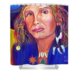 Alive Shower Curtain by To-Tam Gerwe