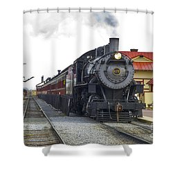 All Aboard Shower Curtain by Paul W Faust -  Impressions of Light