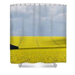 All Across The Land 7 Shower Curtain by Wendy Wilton
