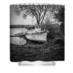 All Ashore Shower Curtain