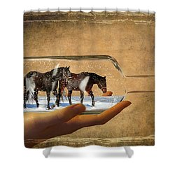 All Bottled Up Shower Curtain