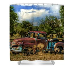 All By Myself Shower Curtain by Ken Smith