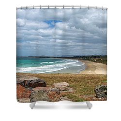 All Day Bay Shower Curtain