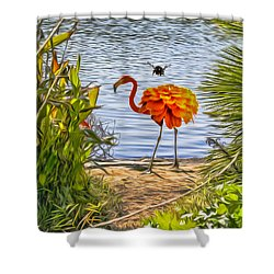 All Dressed Up Shower Curtain