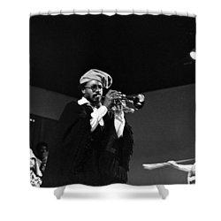All Ebah Shower Curtain by Lee  Santa