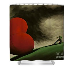 All For You Shower Curtain
