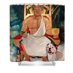 All Hail Head Of Maintenance Shower Curtain