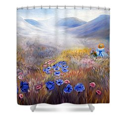 All In A Dream - Impressionism Shower Curtain