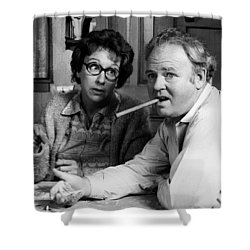 All In The Family Shower Curtain by Mountain Dreams