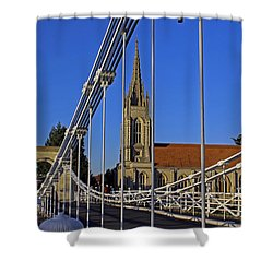All Saints Church Shower Curtain