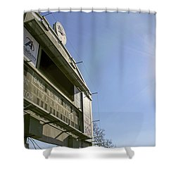All That Remains Of Ray Winder Field Shower Curtain by Jason Politte