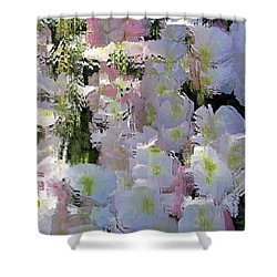 All The Flower Petals In This World Shower Curtain by Kume Bryant