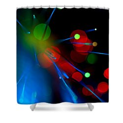 All Through The Night Shower Curtain
