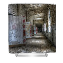 All Together Now Shower Curtain by Nathan Wright